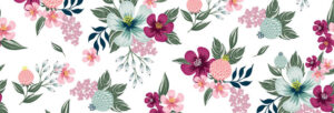 tissu imprimé floral